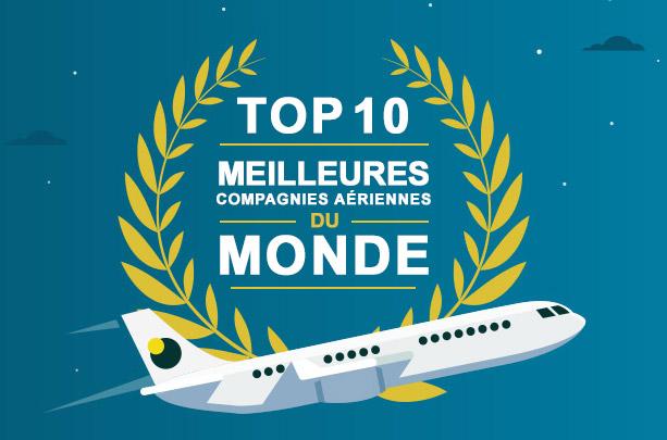 Élue meilleures compagnies aériennes en 2016