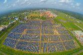 Inde : le premier a�roport � �nergie solaire au monde