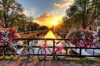 Astuces  réserver un billet d'avion pas cher pour Amsterdam