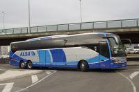 alsa lanza un nuevo billete combinadode autobus mas traslado en coche alsacap