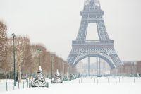 Plus belles photos de Paris sous la neige
