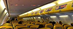 IN-FLIGHT WI-FI: Passengers on Ryanair flights will soon be able to watch films and TV programmes free of charge on smartphones and tablets as the airline trials new internal Wi-Fi.
