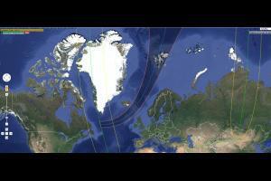 Danemark,Islande, Norvège  les meilleurs lieux pour voir l'éclipse solaire du 20 mars