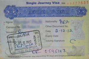 Kenya : son visa en ligne