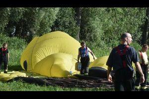 Hei�luftballon st�rzt in Brandenburg ab