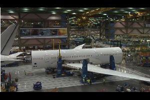 Vid�o : la fabrication d'un avion