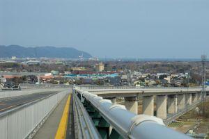 Insolite  Eshima Ohashi, le pont le plus vertigineux du monde se situe à Sakaiminato au Japon