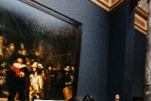 El museo que incita a dibujar y no a fotografiar sus obras