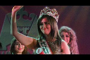 Voyage en Irak  Shaymaa Qassim Abdelrahman est la première miss du pays en 43 ans