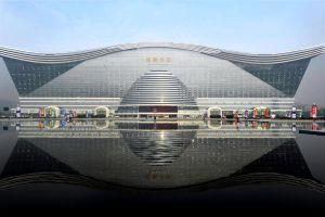 In Cina il più grande edificio del mondo è un centro commerciale New Century Global Mall