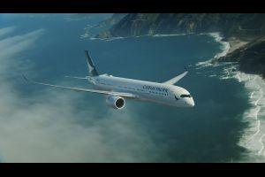 A Hong Kong, Cathay Pacific reçoit son premier A350