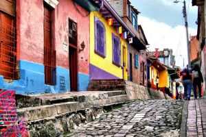 colombia celebra llegada air europa capital bogota