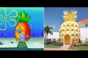 SpongeBob Hotel - Luxusaufenthalt in einer Ananas?