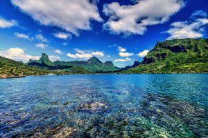 Polynesian islands home of Moana