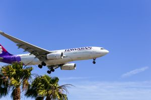 hawaiian airlines weigh passengers before flights