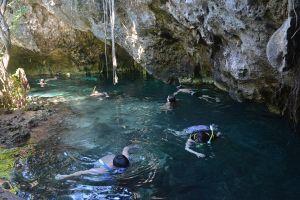 I fiumi sotterranei della penisola dello Yucatan in Messico