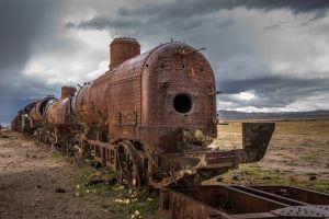 Der Friedhof der Eisenbahnen