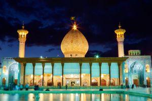 shah cheragh la mezquita mas luminosa de iran