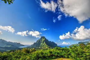 10 views of French Polynesia