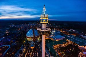 Germany's biggest theme park prepares for Christmas