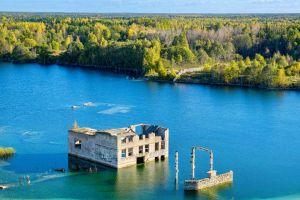 Estonia ex Soviet prison turns scuba dive site