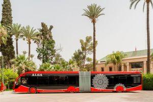 alsa integra autobuses electricos en marruecos