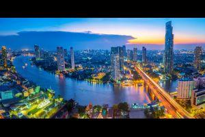 el cielo sobre bangkok