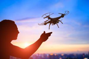 Un spectacle de drones à Disney World