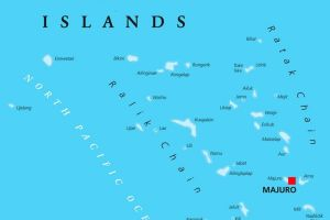 The Marshall Islands disappearing due to climate change
