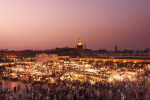 Marrakesch, die Rote Stadt von Marokko