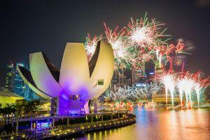 Vielfältige Festlichkeiten von Singapur