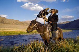 Die mongolische Falknerei - eine jahrhundertealte Tradition