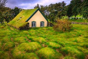 Scandinavia's turf churches