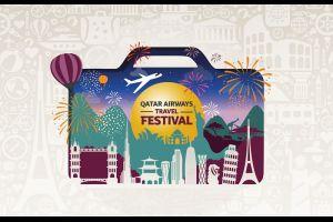 Qatar Airways travel festival offers half price flights exclusive easyvoyage code