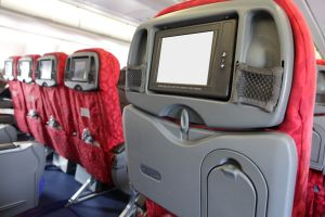 in-flight entertainment end American airlines technology