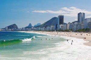 Rio de Janeiro carnival prepping to parade