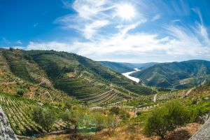 Das malerische Douro-Tal in Portugal