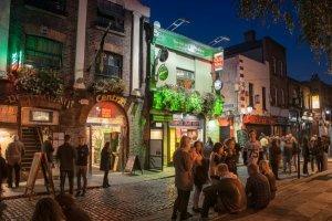Feiern auf Irisch Zum St. Patrick's Day nach Dublin