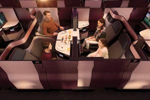 La compagnie aérienne Qatar Airways dévoile sa nouvelle classe affaires