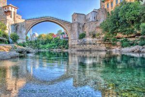 viajar puente mostar reconstruido bosnia herzegovina