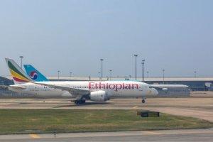 Saint Patrick la compagnie aérienne Ethiopian Airlines s'habille en vert