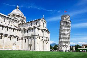 Pisa plant ein Riesenrad