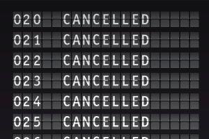 Italie des vols annulés pour cause de grève
