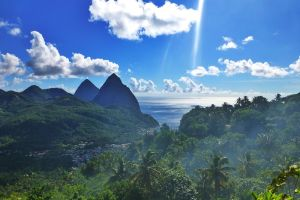 caribbean island st lucia new airport tax rise expensive flights