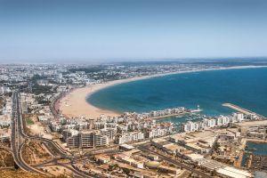 Billet d'avion Paris - Agadir  pour vivre un séjour ensoleillé