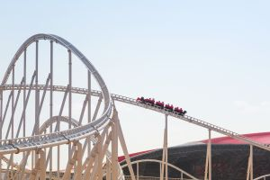 Europes fastest and highest rollercoaster opens in spain