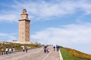 torre hercules galicia faro mas antiguo del mundo epoca romana