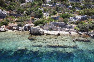 Una città per metà sommersa in Turchia custodita dal mar mediterraneo da venti secoli
