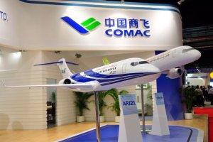 Décollage du premier avion civil chinois