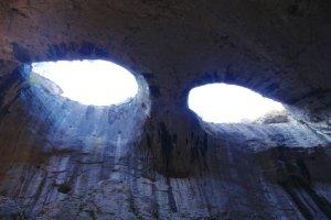 Voyage en Bulgarie dans les yeux de dieu la grotte Prohodna